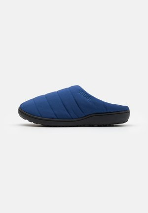 SUBU SLIP ON - Klapki - undulate blue