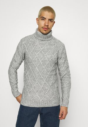 ENZO  - Jumper - light grey melange