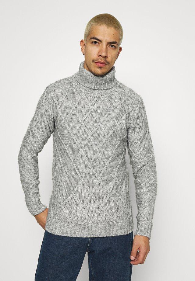 ENZO  - Trui - light grey melange