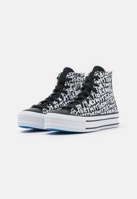 Converse - CHUCK TAYLOR ALL STAR PLATFORM MY STORY - Sneakers hoog - black/egret/digital blue - 2