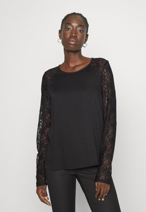 VMALLI LACE - Long sleeved top - black