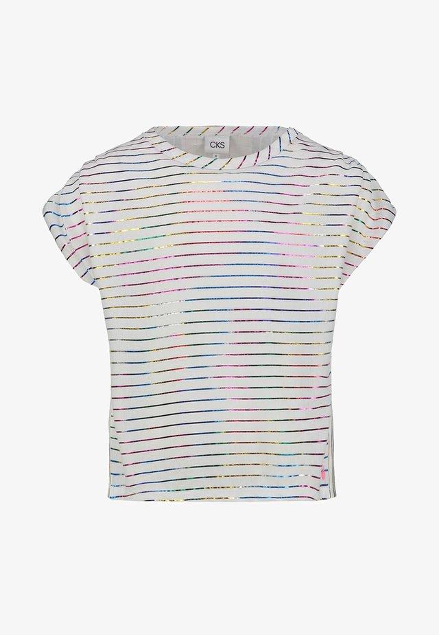 INVIDI - Print T-shirt - off white