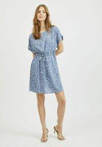 Vila - Day dress - colony blue - 1