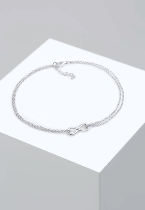INFINITY SYMBOL ZEICHEN - Armbånd - silver-coloured