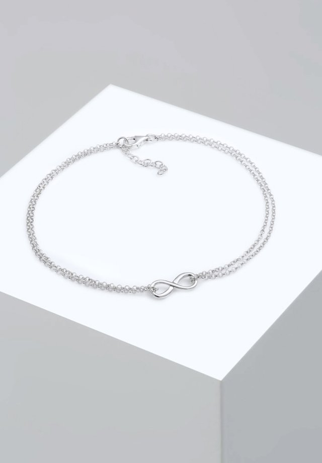 INFINITY SYMBOL ZEICHEN - Armband - silver-coloured