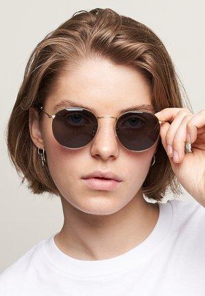 Sunglasses - gold carbon
