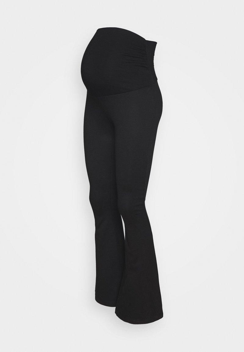 Anna Field MAMA - FLARED LEGGING - Leggings - black