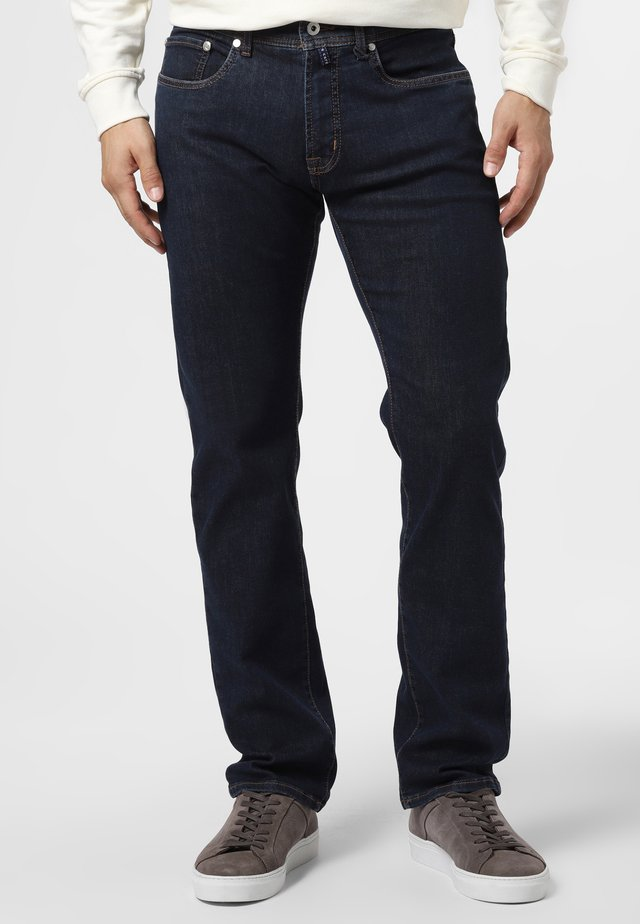 Relaxed fit jeans - dark stone