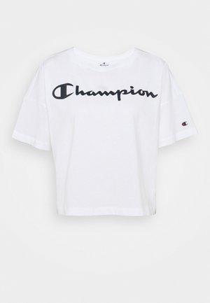 CREWNECK - Print T-shirt - white