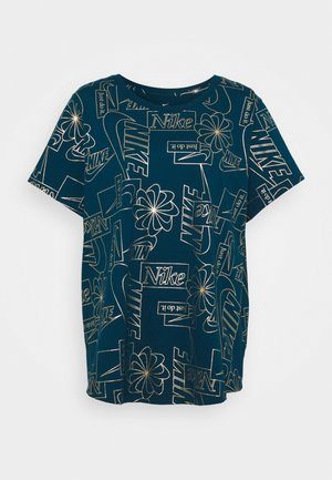 ICON CLASH PLUS - Print T-shirt - valerian blue