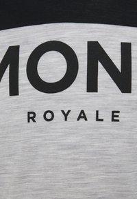 Mons Royale - REDWOOD ENDURO - Top sdlouhým rukávem - black/grey marl - 2