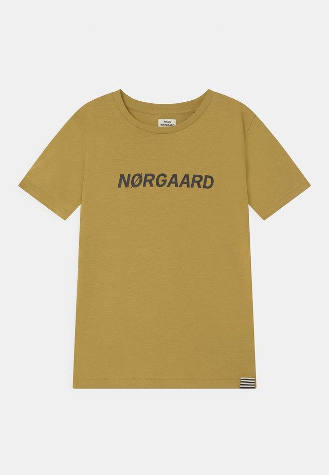 THORLINO UNISEX - Print T-shirt - burnished gold