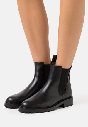 OLARVIK SUSTAINABLE - Classic ankle boots - doge black