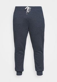 Pier One - Tracksuit bottoms - mottled dark blue - 4