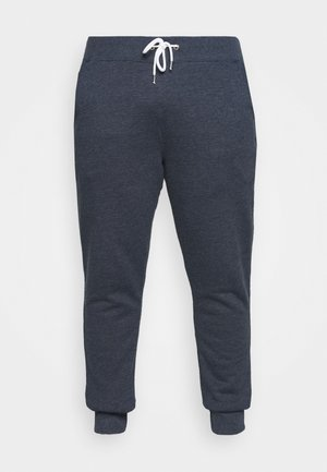 Tracksuit bottoms - mottled dark blue