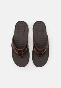 Sperry - PLUSHWAVE THONG - Japonki - brown - 3