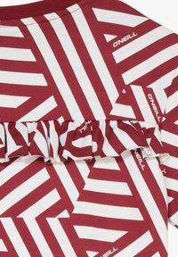 O'Neill - MIT KNOTEN - T-shirt print - cabernet - 3