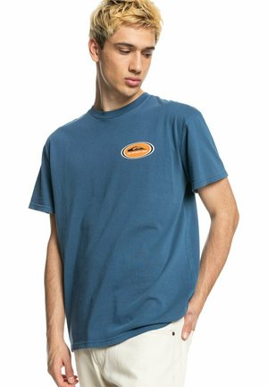 OG REVERB SS - Print T-shirt - dark denim