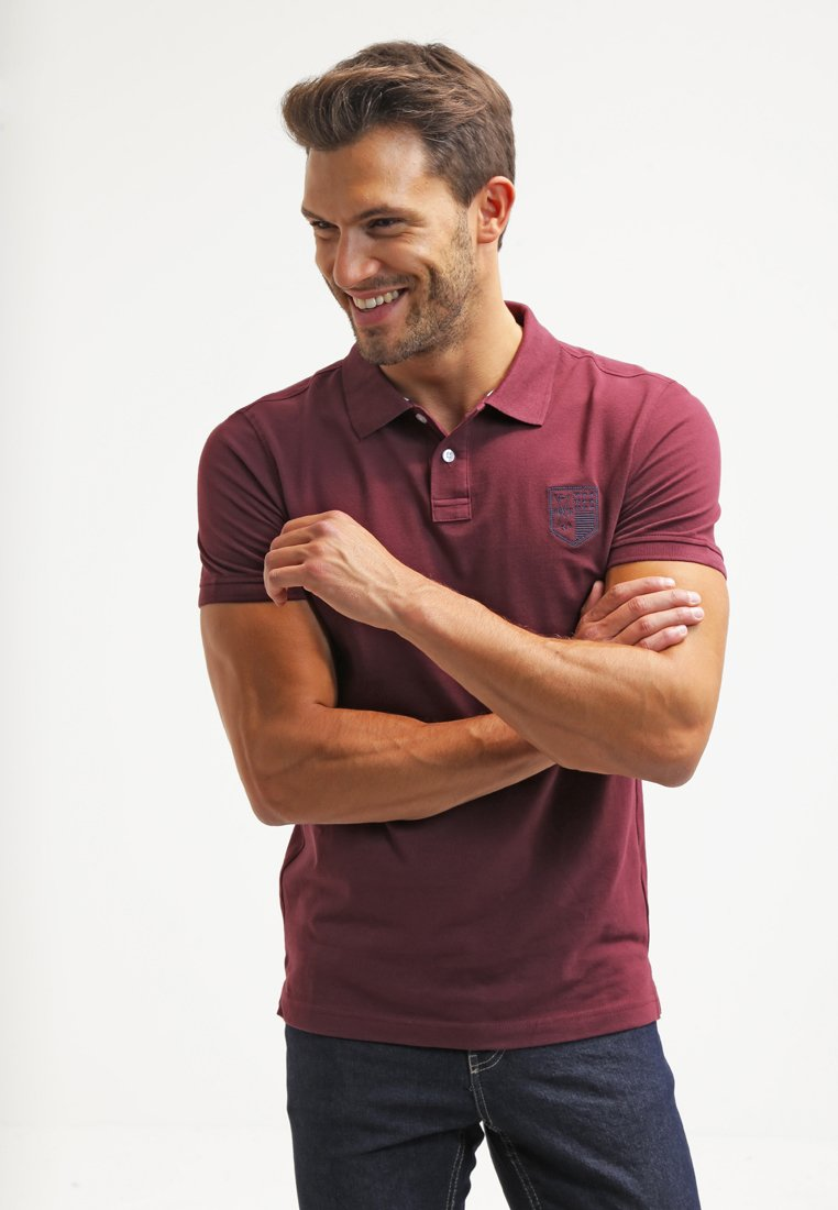 Pier One - Poloshirts - bordeaux