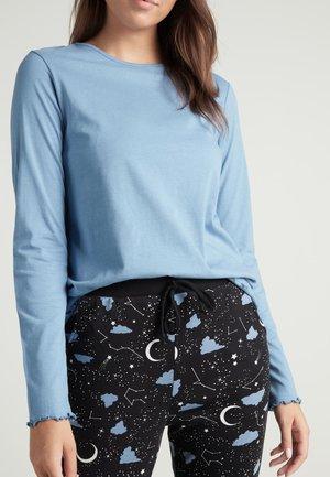 Pyjama top - blau - 045u - sky blue