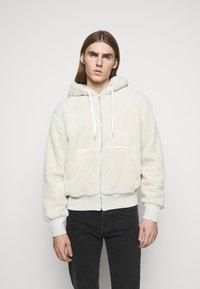 rag & bone - DAMON ZIP HOODIE - Winter jacket - ivory - 0
