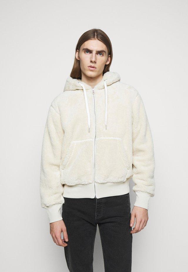 DAMON ZIP HOODIE - Winter jacket - ivory