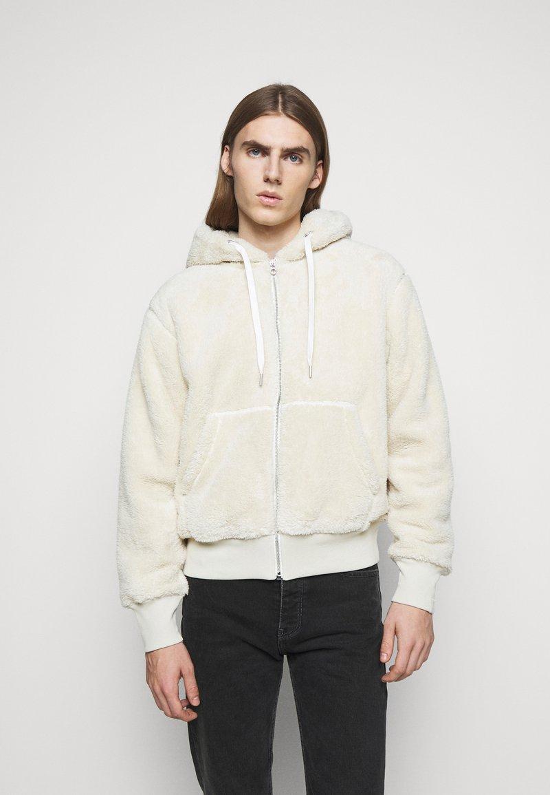 rag & bone - DAMON ZIP HOODIE - Winter jacket - ivory