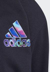 adidas Performance - Zip-up sweatshirt - blue - 4