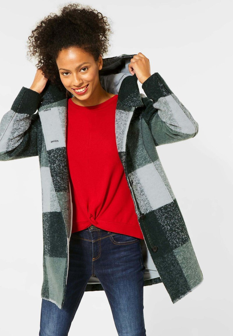 Street One - Winter coat - grün