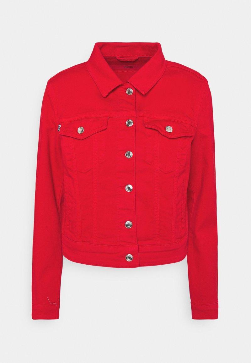 HUGO - ALEX - Denim jacket - open pink