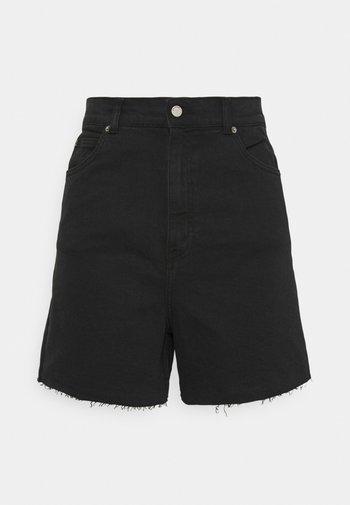 NORA - Denim shorts - retro black