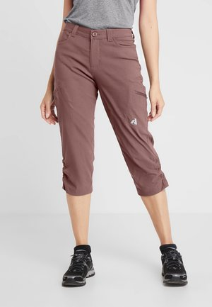 Outdoor trousers - maulbeere