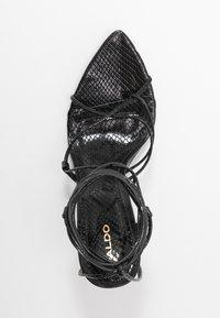 ALDO - CARREGAL - Sandaler med høye hæler - other black - 3