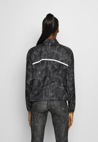 ODLO - JACKET ZEROWEIGHT PRINT - Sports jacket - black - 2
