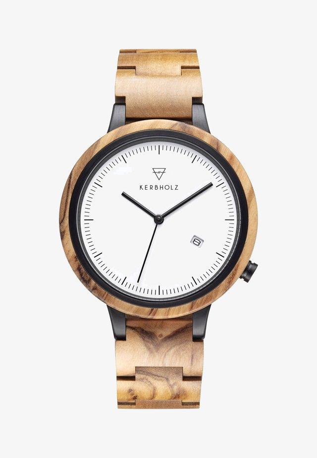 Watch - light brown
