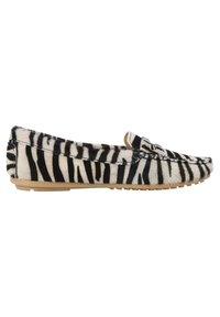 ONEPAIR - Slip-ons - zebra black - 5