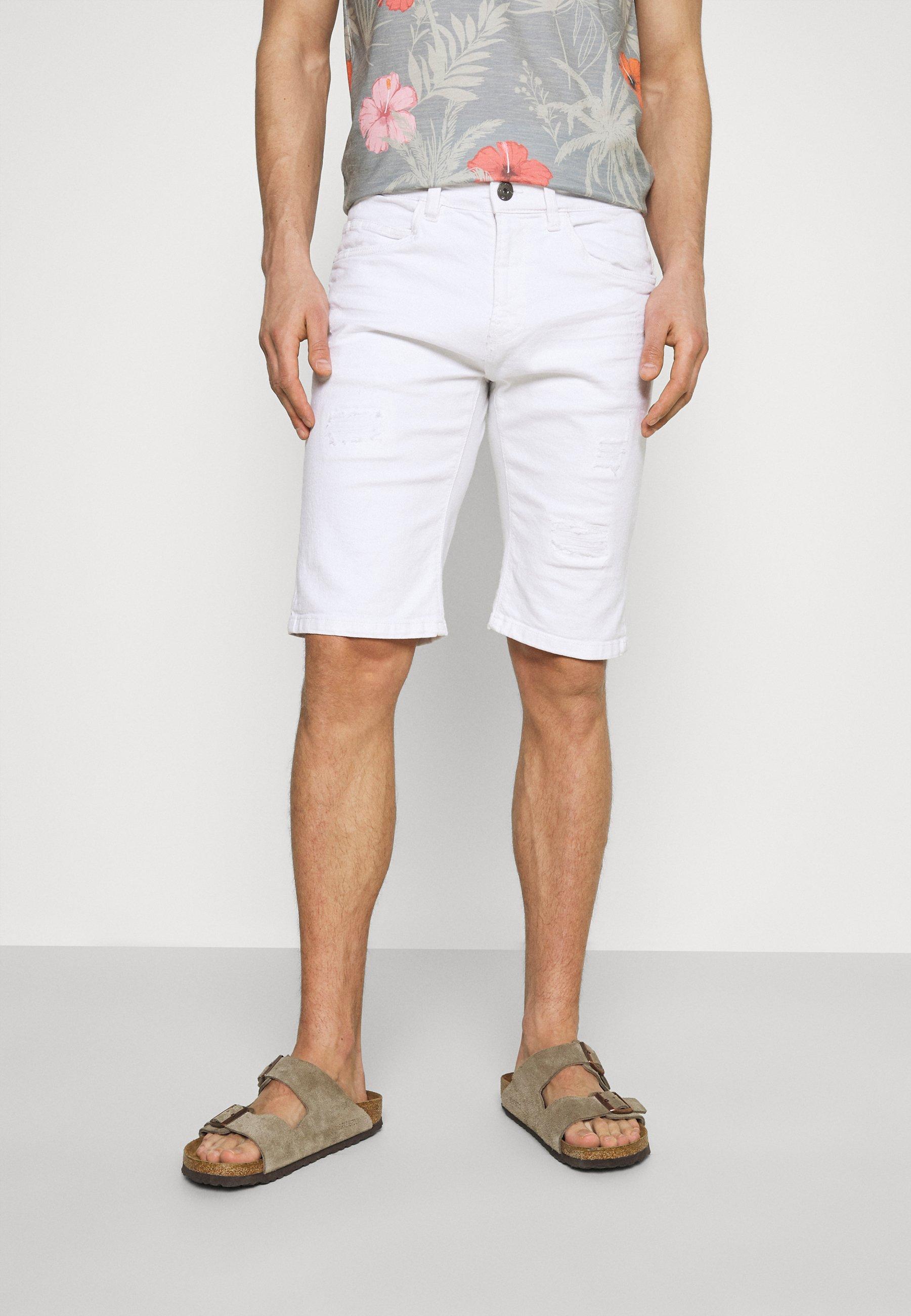 Herren KADEN HOLES - Jeans Shorts