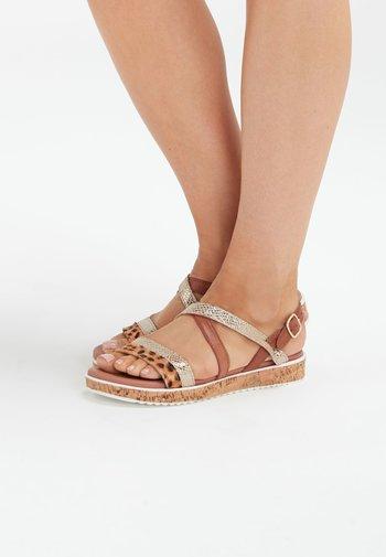 FOREVER COMFORT - Walking sandals - multi-coloured