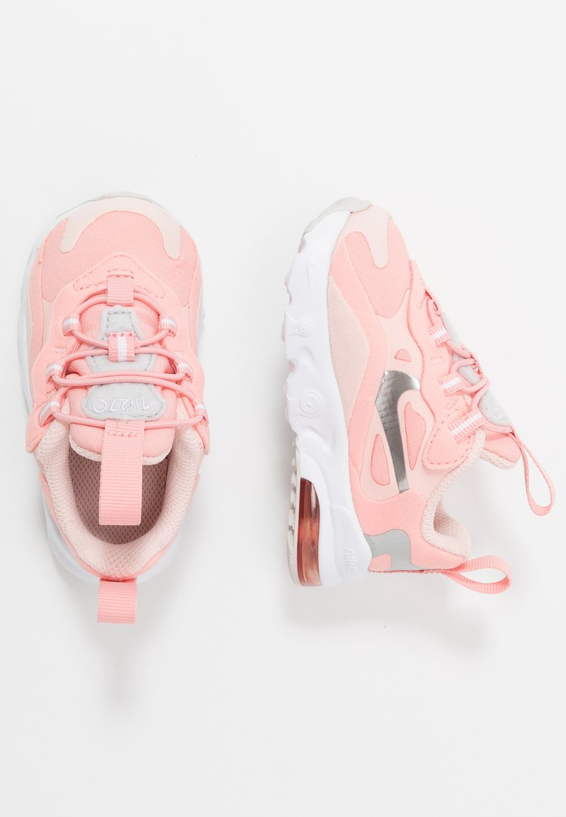 Nike Sportswear - NIKE AIR MAX 270 GEL - Sneakers laag - bleached coral/metallic silver/white/echo pink/vast grey