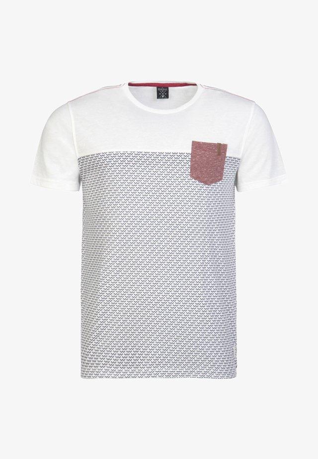 DAMIEN - T-shirt print - off-white