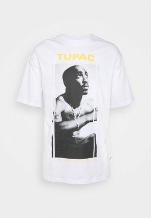 ONSTUPAC LIFE TEE - Print T-shirt - white