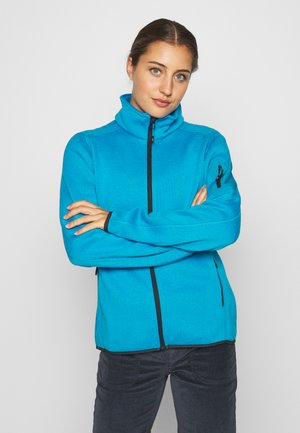 WOMAN JACKET - Fleecejakke - danubio/antracite