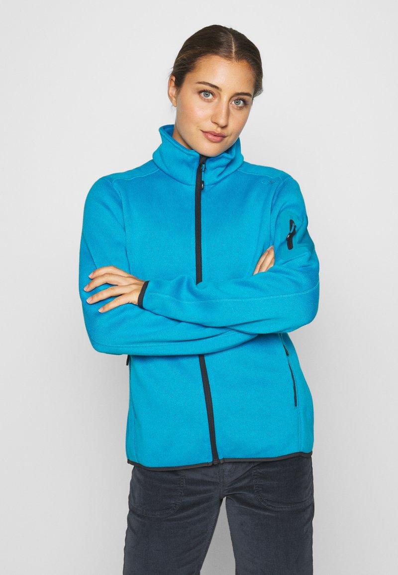 CMP - Fleece jacket - danubio/antracite