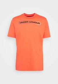 Under Armour - LOCKERTAG  - Camiseta estampada - red - 3
