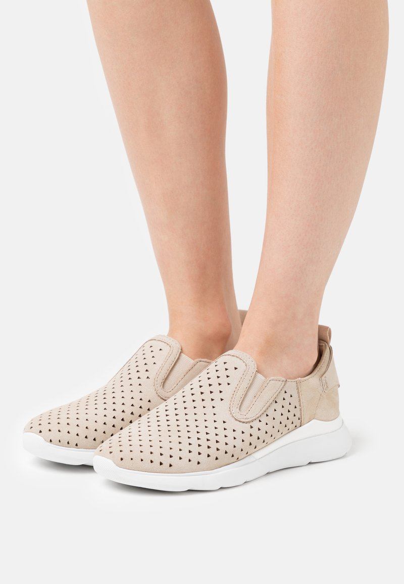 Geox - HIVER  - Trainers - light taupe
