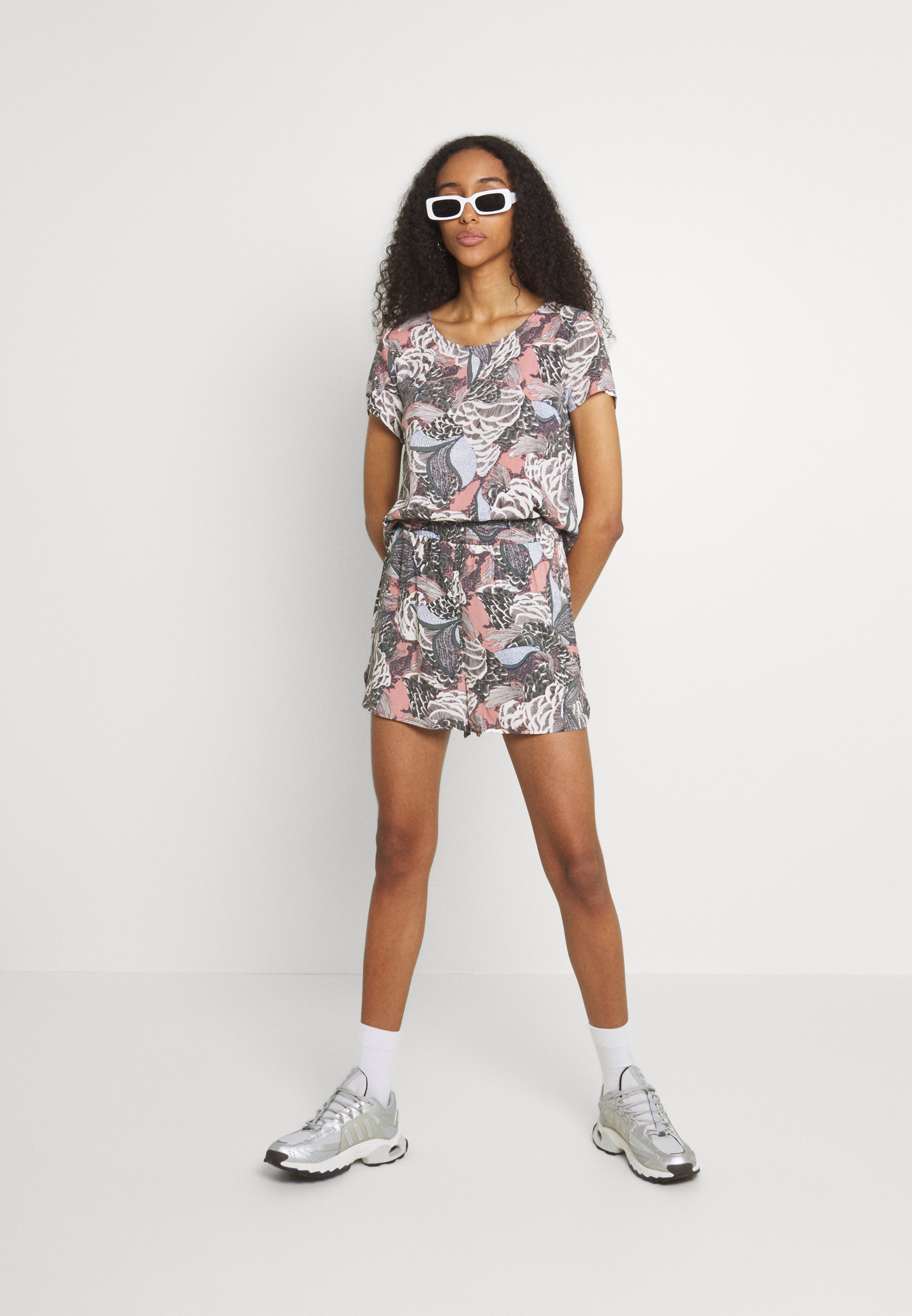 Femme ONLGUSTA LIFE  - T-shirt imprimé