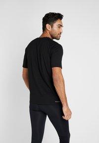 MOROTAI - Print T-shirt - black - 2