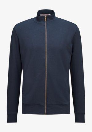 Zip-up sweatshirt - marino