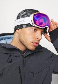 Alpina - BIG HORN - Gogle narciarskie - white - 1