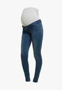 MAMALICIOUS - MLTORONTO  - Slim fit jeans - dark blue denim - 3